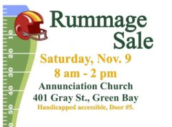 Annunciation Church Rummage Sale @ Annunciation Parish | Green Bay | Wisconsin | United States