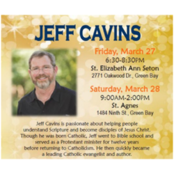 CANCELED - Jeff Cavins Event: Friday @ St. Elizabeth Ann Seaton | Green Bay | Wisconsin | United States