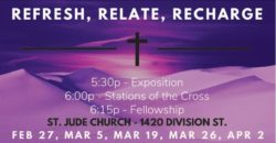 CANCELED Refresh, Relate, Recharge - Stations of the Cross