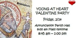 Young At Heart Valentine's Party @ Annunciation Parish Hall | Green Bay | Wisconsin | United States