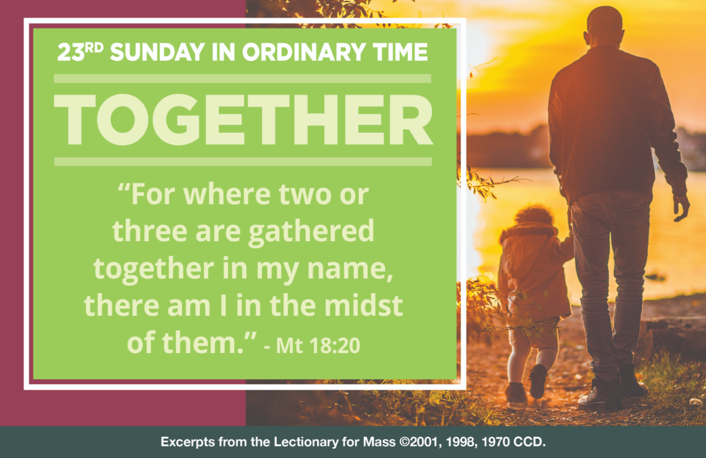 Sunday Mass with Fr. Tony – September 6, 2020 | Quad Parishes of