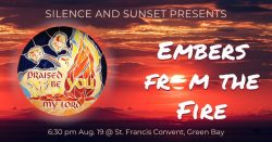 Silence and Sunset: Embers from the Fire @ Sisters of St. Francis of the Holy Cross | Green Bay | Wisconsin | United States